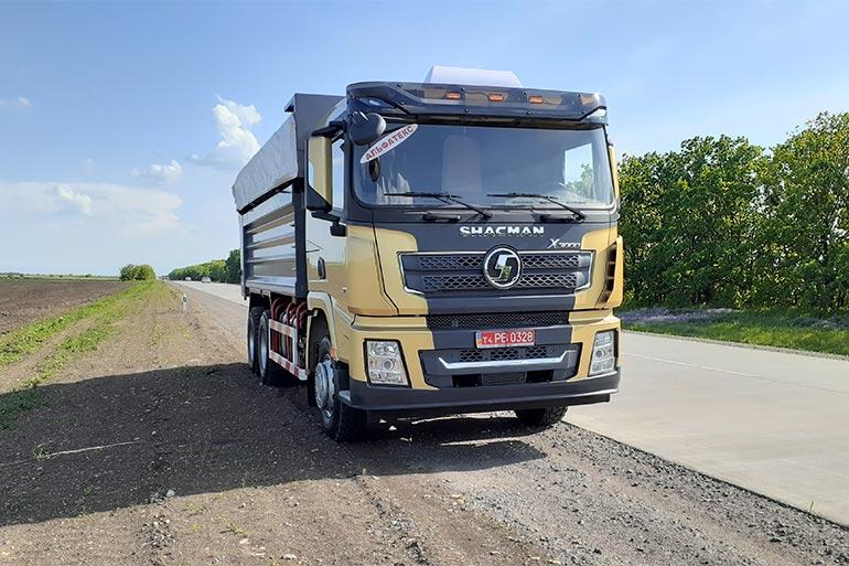 Автомобіль SHACMAN нової серії працюватиме в Кременчуці