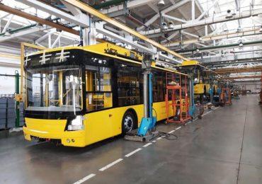 Партія тролейбусів «Богдан Т70117» поставлена до Полтави
