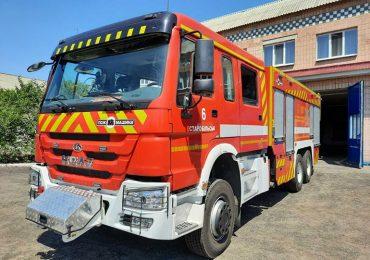 «Пожмашина» виготовила пожежну автоцистерну на шасі КрАЗ з новою кабіною