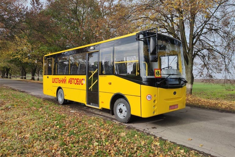 «Богдан» виграв тендер на поставку шкільних автобусів для Волинської області