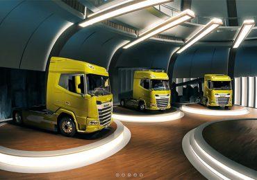 Вантажівки DAF нового покоління оживають у цифровому форматі