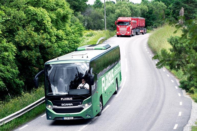 Відбулася прем'єра першого міжнародного автобуса на біогазі