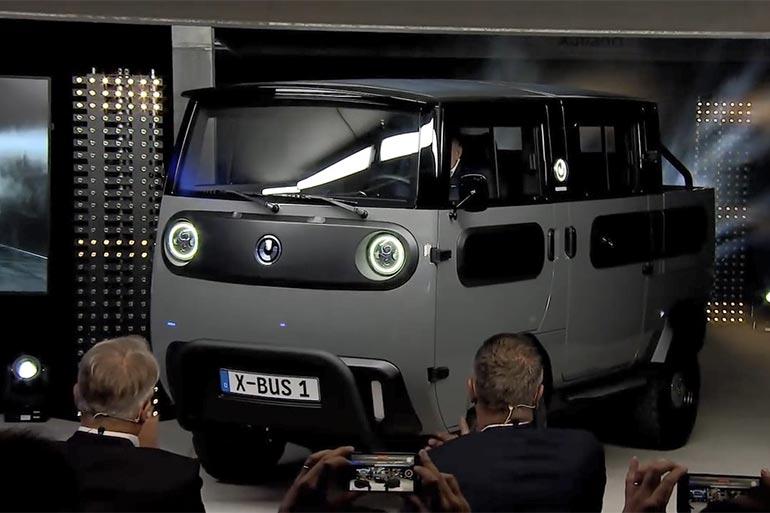 У Німеччині представили компактний електромобіль Xbus
