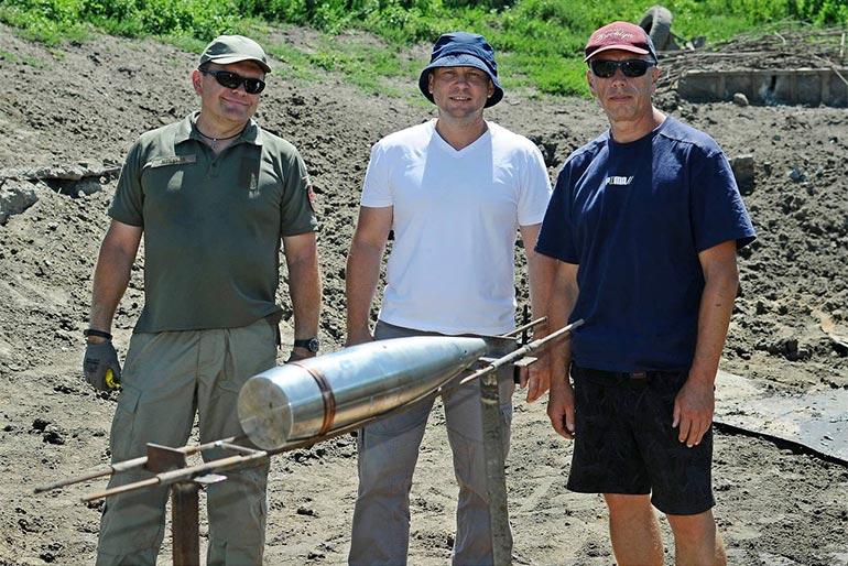 Проведено випробування 155 мм снаряду українського виробництва для САУ «Богдана»