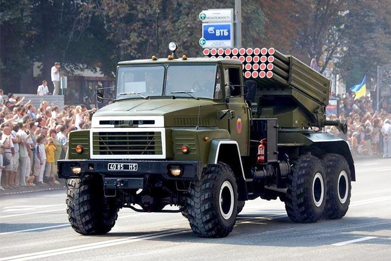 ЗСУ доукомплектують «Градами» на шасі КрАЗ