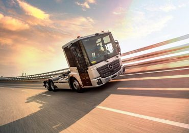 Електромобіль Mercedes-Benz eEconic проходить випробовування