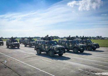12 спеціалізованих броньованих авто «Козак-2» служитимуть у морській піхоті