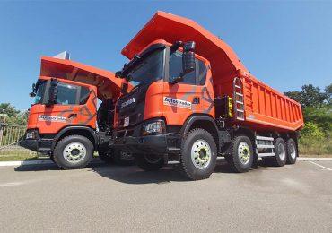 Група компаній «Автострада» поповнила свій автопарк кар'єрними самоскидами Scania
