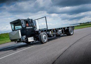Volta Trucks тестує прототип електровантажівки Volta Zero
