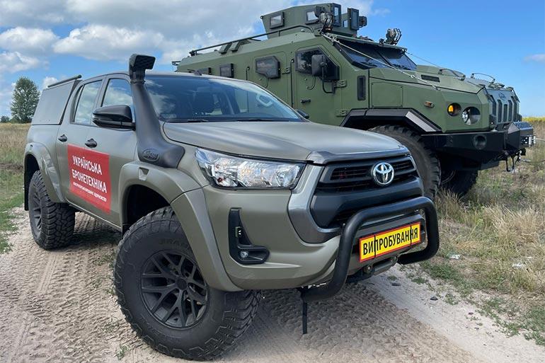 «Українська бронетехніка» показала позашляховик, що може замінити УАЗ в ЗСУ