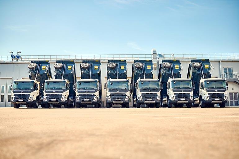 Мережа торговельних центрів «Епіцентр К» придбала 15 автомобілів Volvo