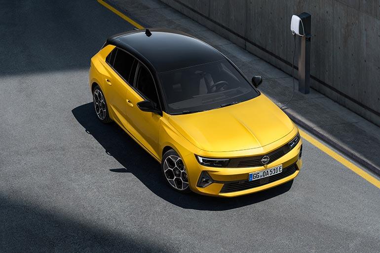 Електричний Opel Astra-e надійде в продаж 2023 році