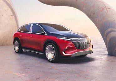 Concept Mercedes-Maybach EQS — перша повністю електрична модель Maybach