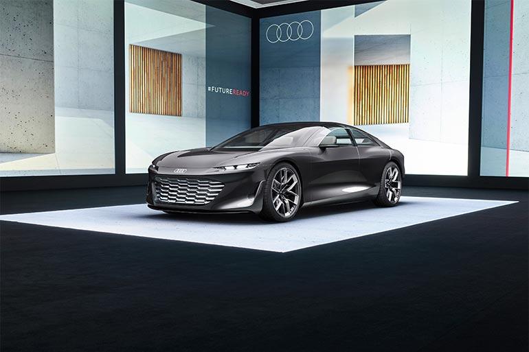Audi grandsphere — розкішний концепт першого класу
