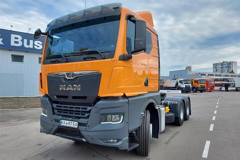 Для української компанії «Автострада» поставлено партію авто марки MAN