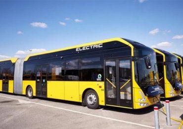 У Києві курсуватимуть 17 нових електробусів з кондиціонерами, відеоспостереженням та автоматизованою системою оплати