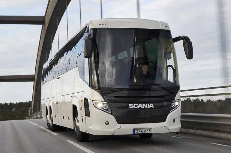 SCANIA презентує новий туристичний автобус