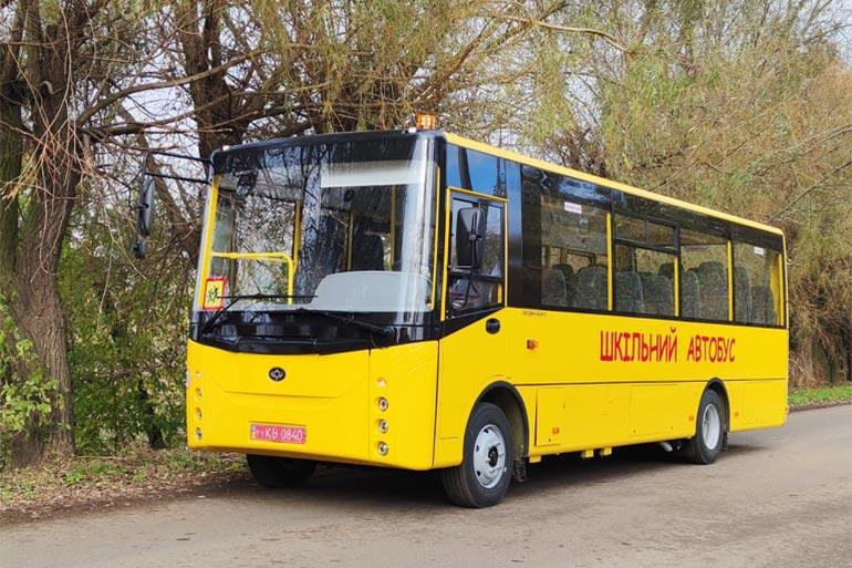 16 нових шкільних автобусів «Богдан» перевозитимуть учнів у Волинській області
