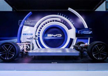 Автовиробник BYD презентував e-platform 3.0 для автомобілів на електричній тязі