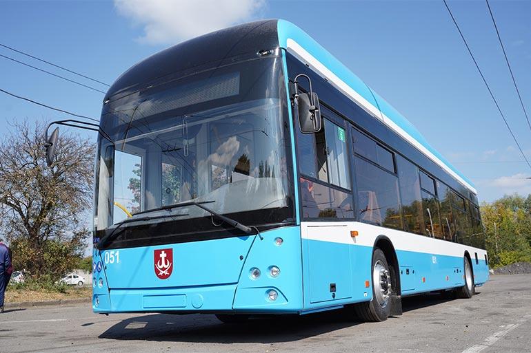 Транспортники Вінниці випустили п'ятий тролейбус VinLine з автономним ходом