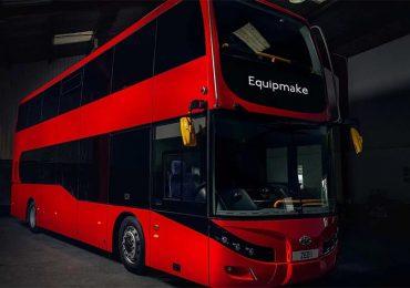 Equipmake і Beulas презентували сучасний двоповерховий електробус із запасом ходу близько 400 км