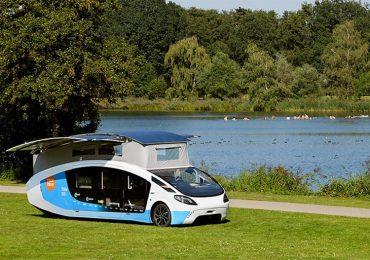 Студенти з Нідерландів вирушають у подорож Європою на е-фургоні Stella Vita з сонячними батареями