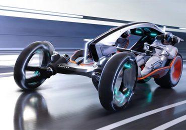 SAIC Motors презентував надмобільний гібрид автомобіля і мотоцикла