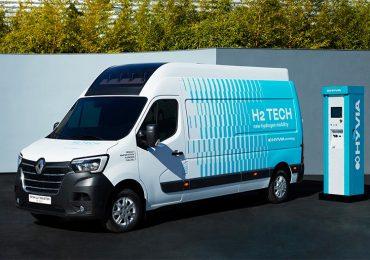 Презентовано водневий фургон Renault Master Van H2-TECH