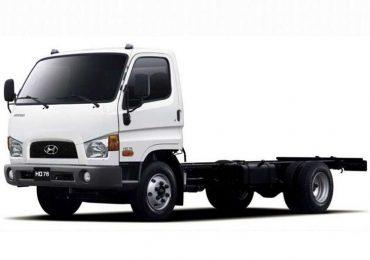 Автопарк Нацгвардії поповнять п'ять вантажівок Hyundai HD-78