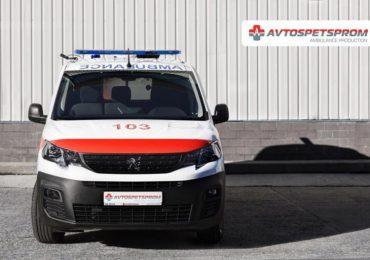 В Україні презентували медичний автомобіль на базі PEUGEOT Partner