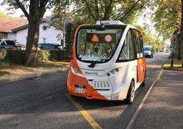 У Швейцарії успішно завершилися випробування автономного автобуса
